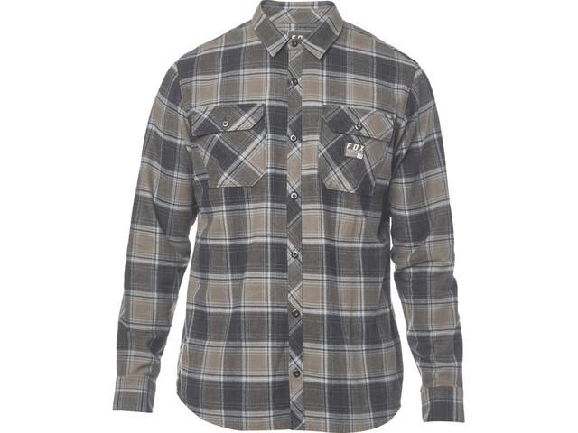 Fox Traildust Longsleeve Shirt Men grey/brown